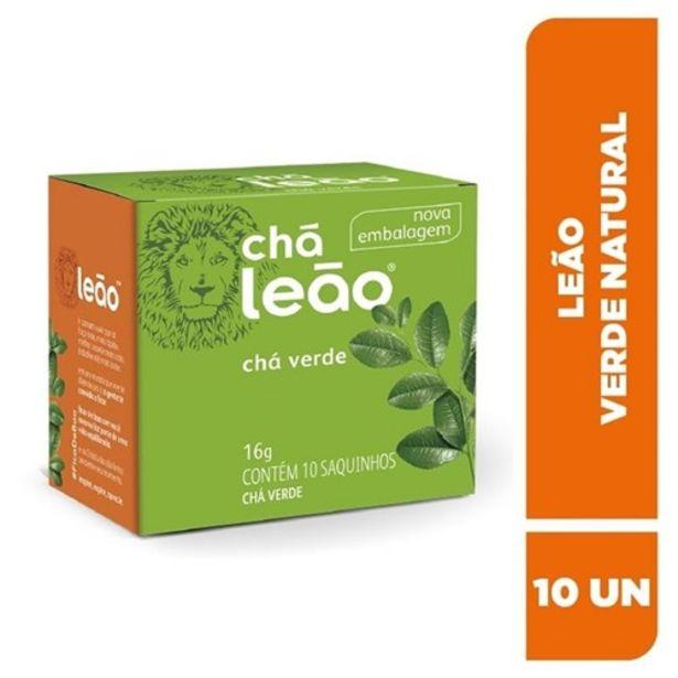 Oferta de Chá Verde Leão Natural Sachê 10Un por R$4,22