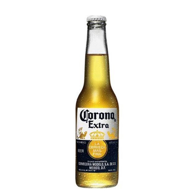 Oferta de Cerveja Corona Extra 330Ml por R$6,14