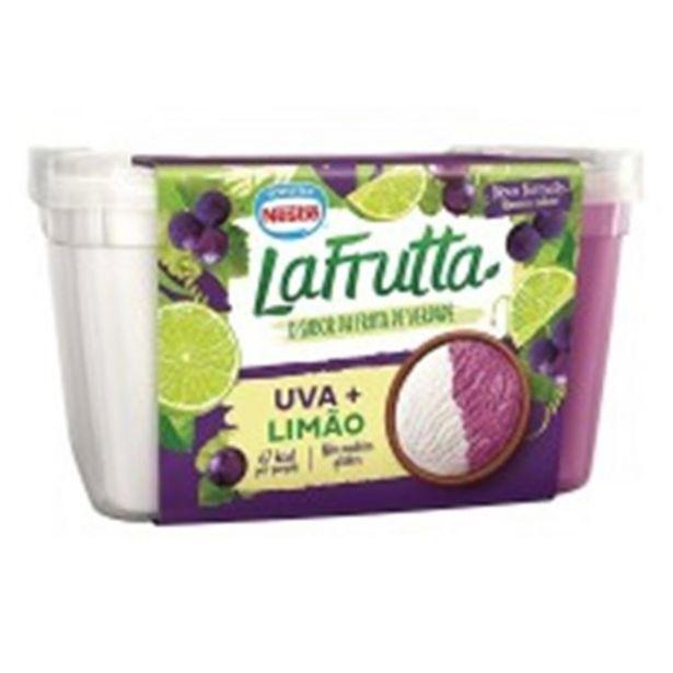 Oferta de Sorvete Nestlé La Frutta Uva + Limão 1 Litro por R$30,63