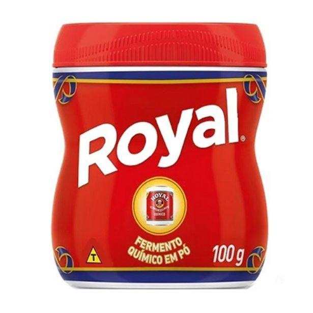 Oferta de Fermento em Pó Royal Pote 100G por R$3,91