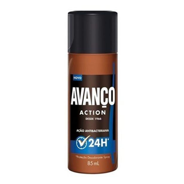 Oferta de Desodorante Spray Avanço Action 85Ml por R$6,34