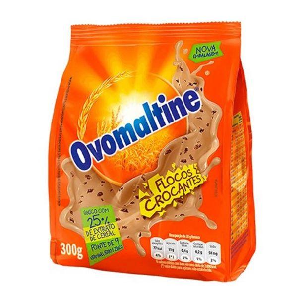 Oferta de Achocolatado Ovomaltine Flocos Crocantes 300G por R$12,7