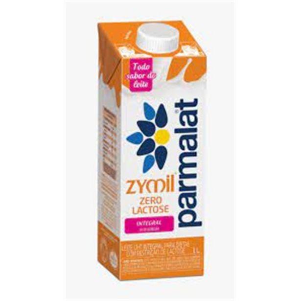 Oferta de Leite Uht Integral Zero Lactose Parmalat Zymil Caixa com Tampa 1L por R$5,71