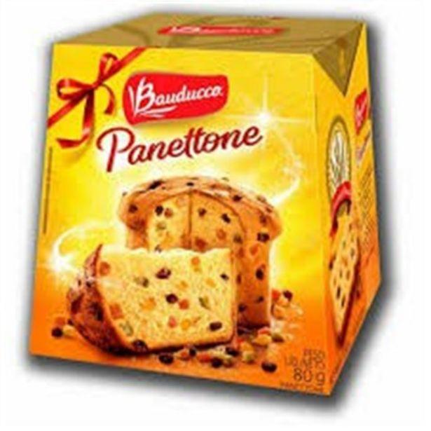 Oferta de Panetone Bauducco 80G Frutas por R$7,41