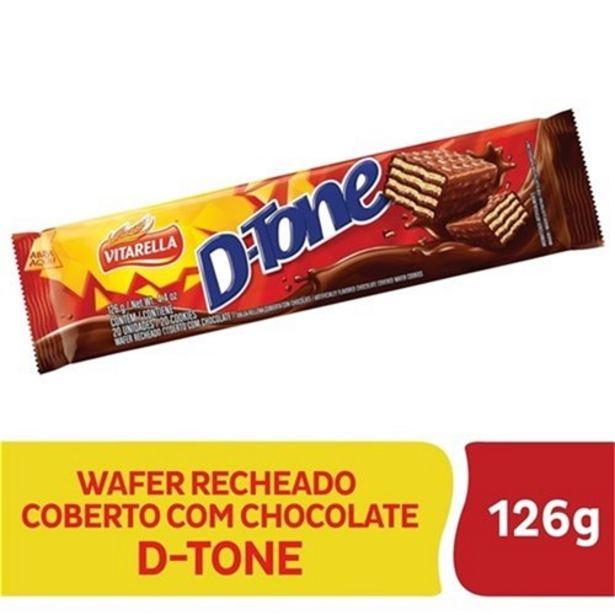 Oferta de Chocolate Dtone Coberto com Chocolate Ao Leite Vitarella 126G por R$2,19