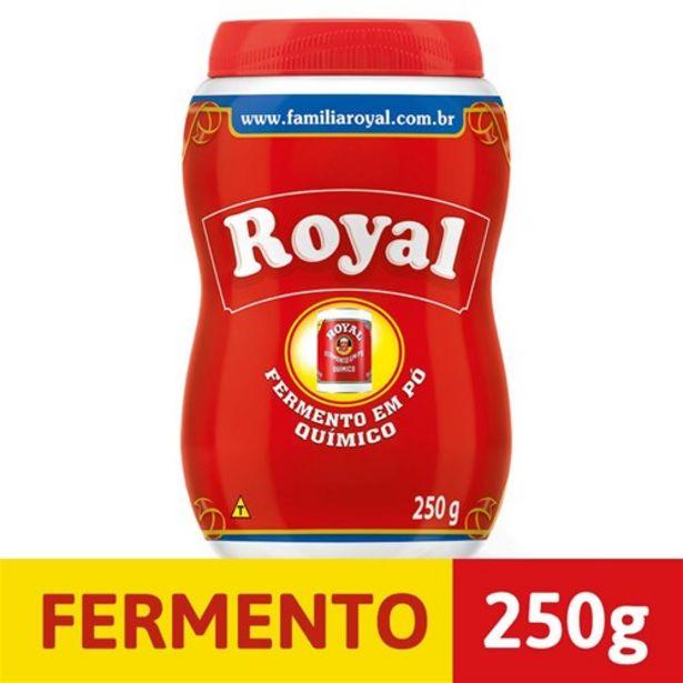 Oferta de Fermento em Pó Royal Pote 250G por R$8,47