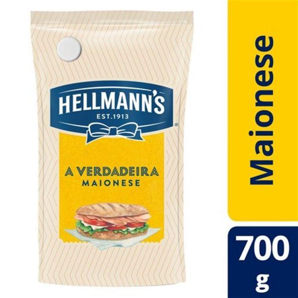 Oferta de Maionese Hellmann's Original 700G por R$10,02