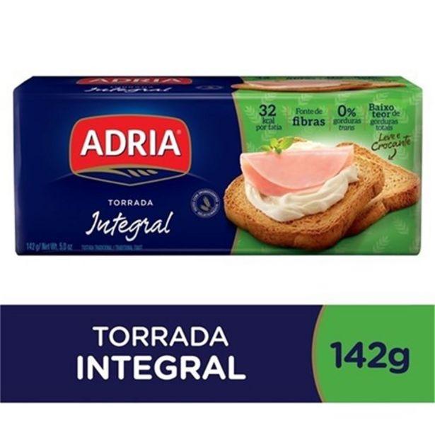 Oferta de Torrada Integral Adria 142G por R$4,55