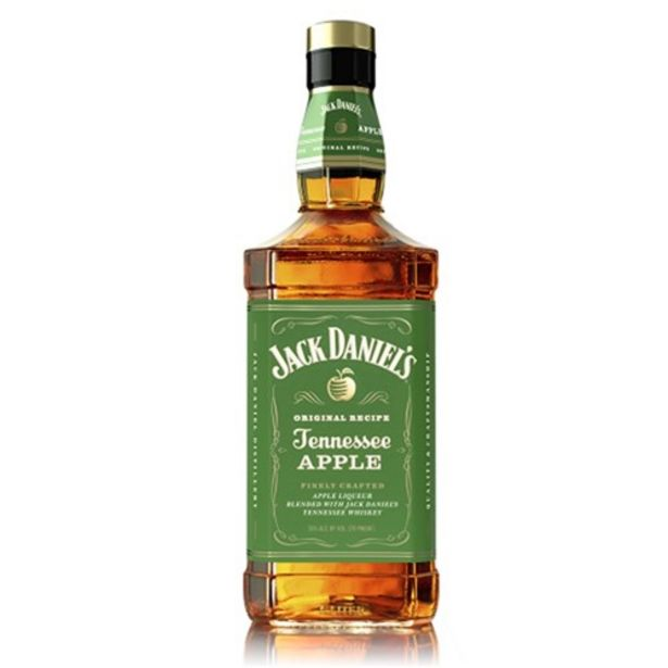 Oferta de Whiskey Jack Daniels Apple 1L por R$169,48
