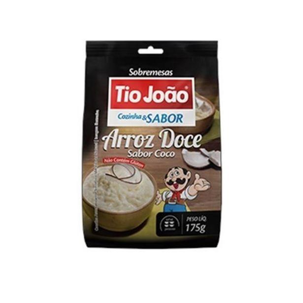 Oferta de Arroz Doce Tio João Cozinha & Sabor Sabor Coco Sachê 175G por R$10,58