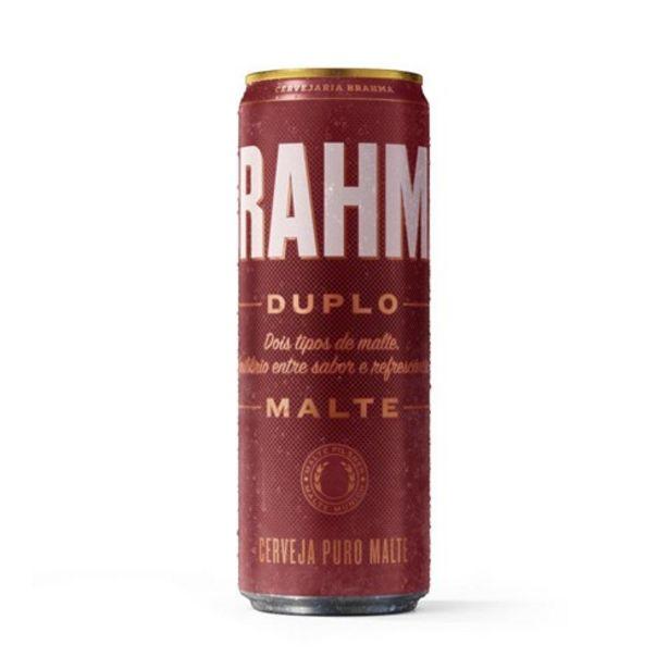 Oferta de Cerveja Brahma Duplo Malte 350Ml por R$3,17