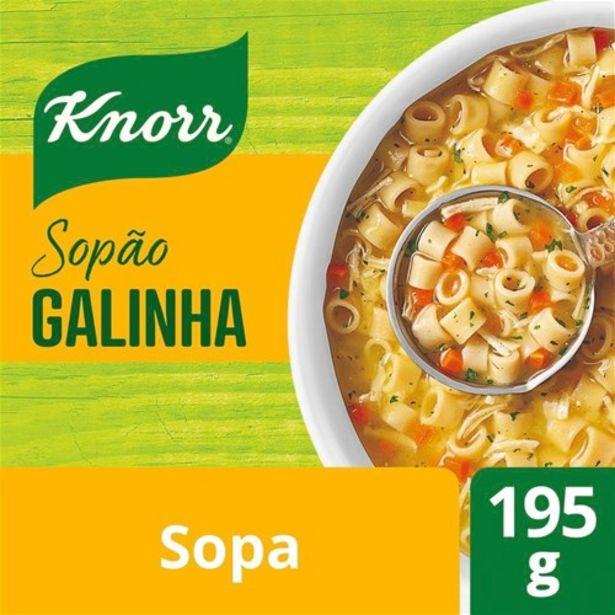 Oferta de Sopão Galinha com Macarrão Knorr 195G por R$9,49