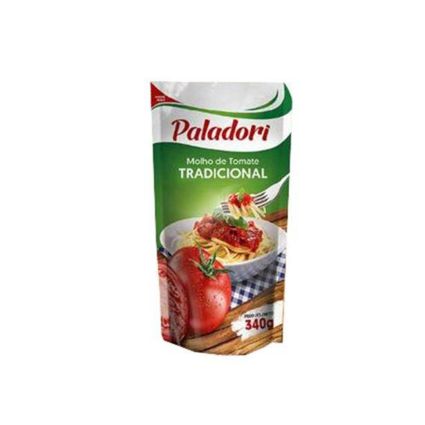 Oferta de Molho de Tomate Tradicional Paladori Embalagem 340G por R$0,79