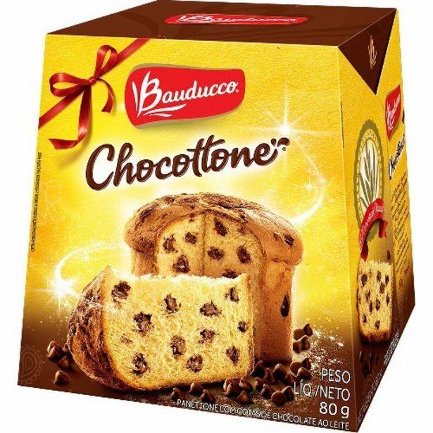 Oferta de Panetone Bauducco 80G Chocottone por R$7,41