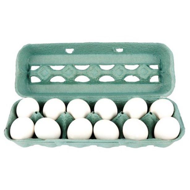 Oferta de Ovo Branco Grande Santa Marta Embalagem 12 Un por R$9,53