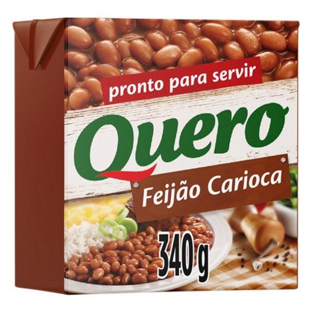 Oferta de Feijão Carioca Quero 340G por R$8,46