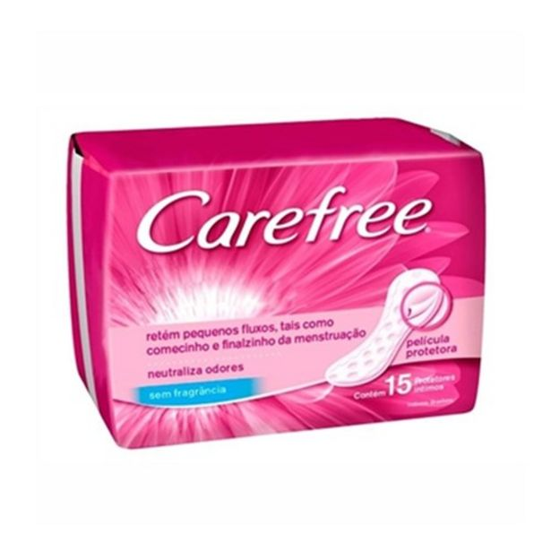 Oferta de Absorvente Carefree Neutralize Pacote 15Un por R$6,99