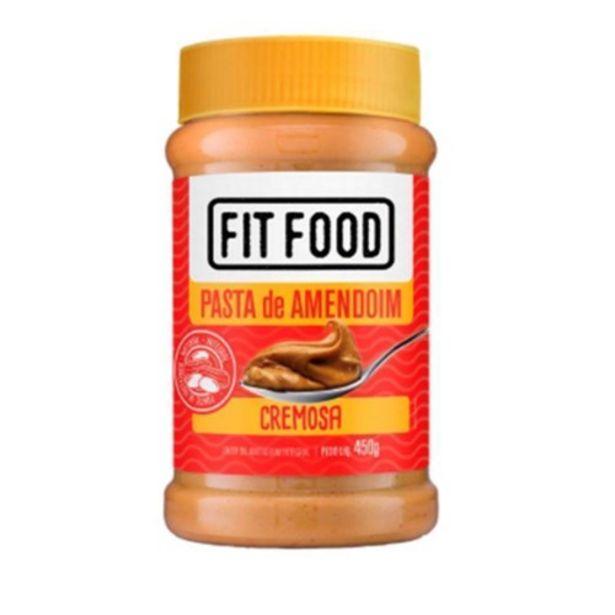 Oferta de Pasta de Amendoim Integral Cremosa Fit Food 450G por R$12,45