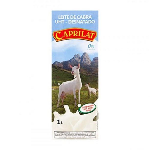 Oferta de Leite de Cabra Desnatado Caprilat Embalagem 1Litro por R$12,71