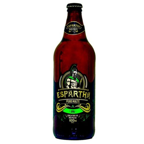 Oferta de Cerveja Ipa Puro Malte Espartha 600Ml por R$14,72