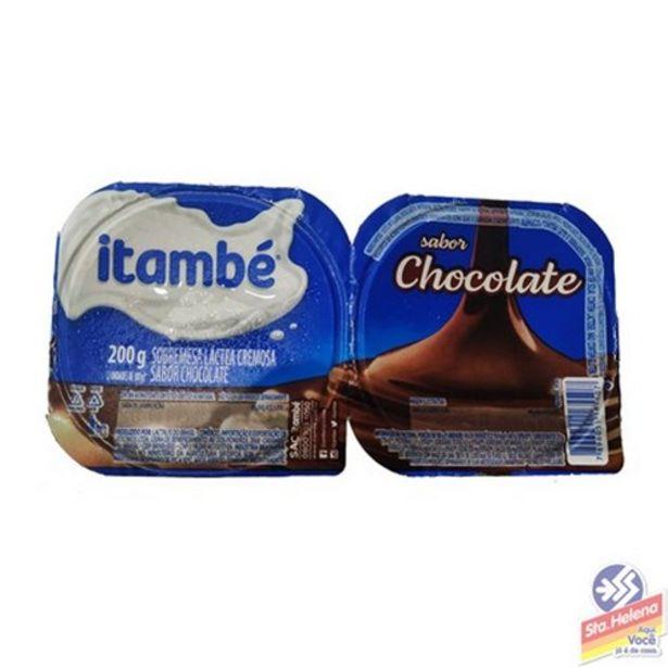 Oferta de Sobremesa Láctea Itambé Chocolate 200G por R$4,65