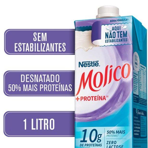 Oferta de Leite Molico +Proteína 1L por R$6,67