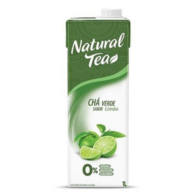 Oferta de Chá Verde com Limão Natural Tea 1L por R$5,29