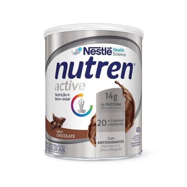 Oferta de Suplemento Alimentar Nutren Active Chocolate 400G por R$58,28