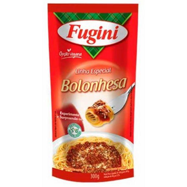 Oferta de Molho de Tomate Fugini Bolonhesa 300G por R$3,17