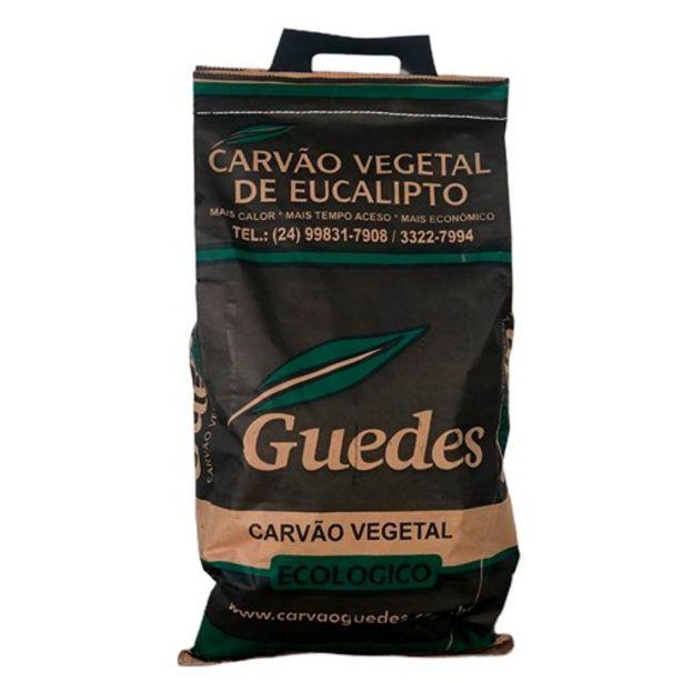 Oferta de Carvão Vegetal de Eucalipto Guedes 5Kg por R$19,07