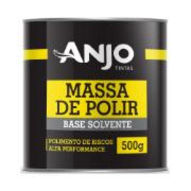 Oferta de Massa de Polir Número 2 500g 98-08 - Anjo por R$27,4