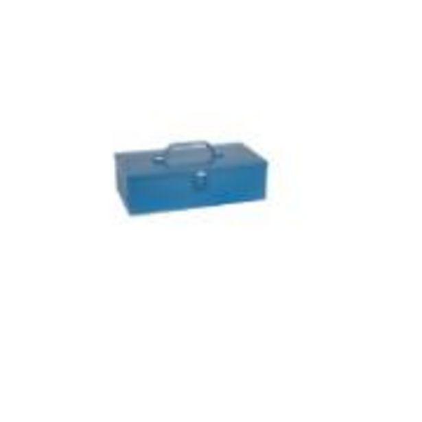 Oferta de Caixa para Ferramentas de Aço Baú com Trava 8x16x30cm R30 - Marcon por R$59,9