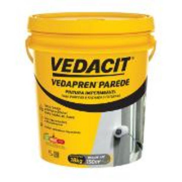 Oferta de Pintura Impermeável Vedapren Parede Branco 18kg - Vedacit por R$339