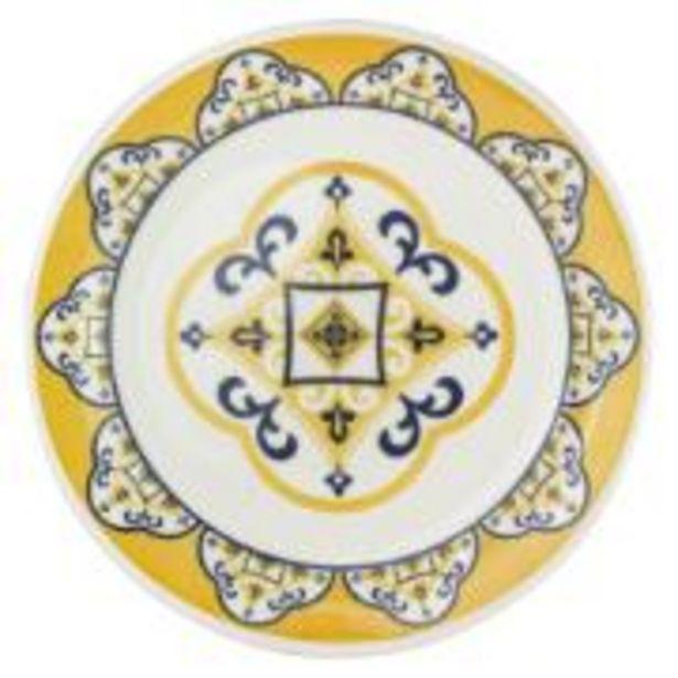 Oferta de Prato de Sobremesa Cerâmica 20cm Floreal Sortidos - Oxford por R$9,9