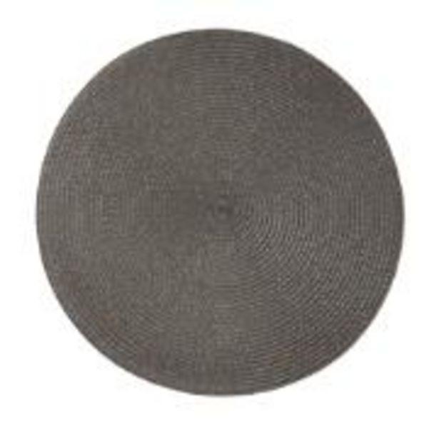 Oferta de Pano Americano Redondo 38 cm Plástico Cinza - Bianchini por R$11,9