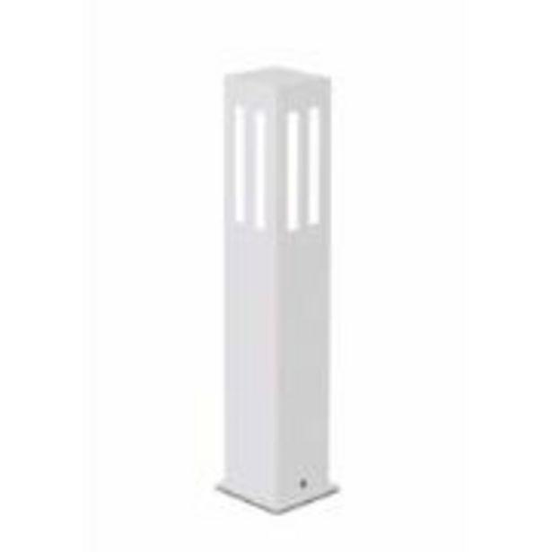 Oferta de Poste de Jardim Alumínio e Vidro 50cm 5570 - Usina Design por R$129