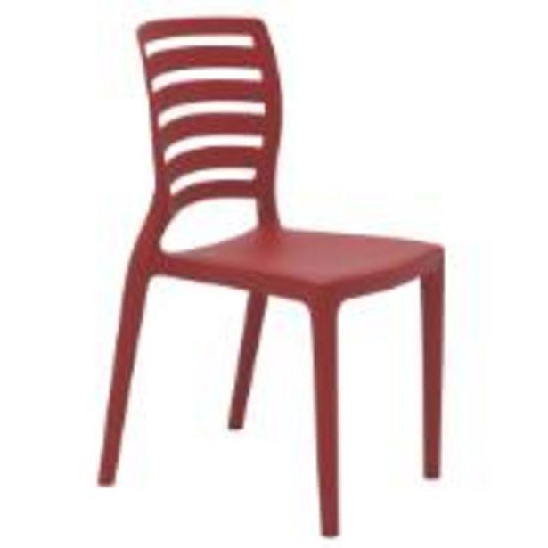 Oferta de Cadeira Infantil Sofia Vermelha - Tramontina por R$129