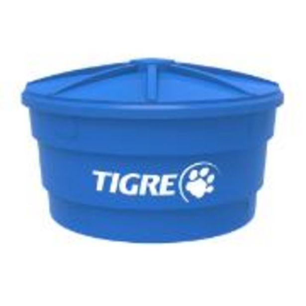 Oferta de Caixa D´água de Polietileno com Tampa 1.000L Azul - Tigre por R$399