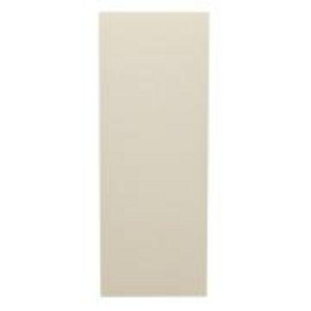 Oferta de Porta de Madeira Lisa 60x210 cm Gelo para Apartamento - Madelar por R$149,9