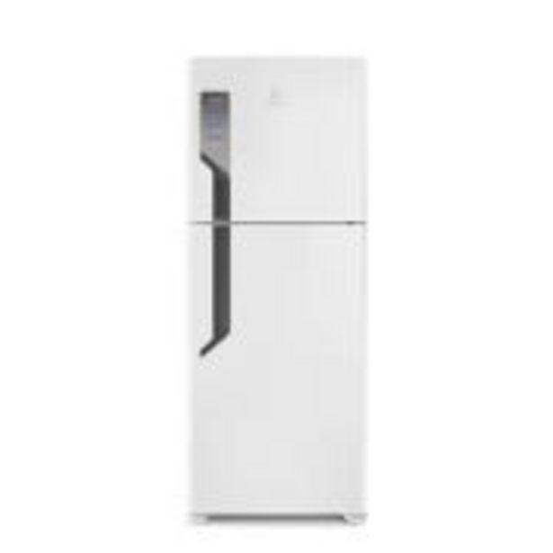 Oferta de Geladeira Refrigerador Electrolux Frost Free Duplex 431L Branco 220V... por R$3299