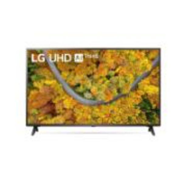 "Oferta de Smart TV LED 65"" LG HDR Inteligência Artificial 4K Ultra HD 65UP7550... por R$4635,05"