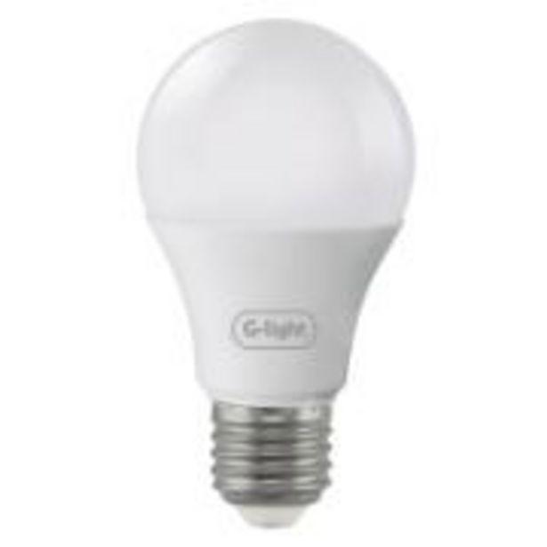 Oferta de Lâmpada LED Bulbo A60 9W Luz Amarela E27 Autovolt - Glight por R$7,9