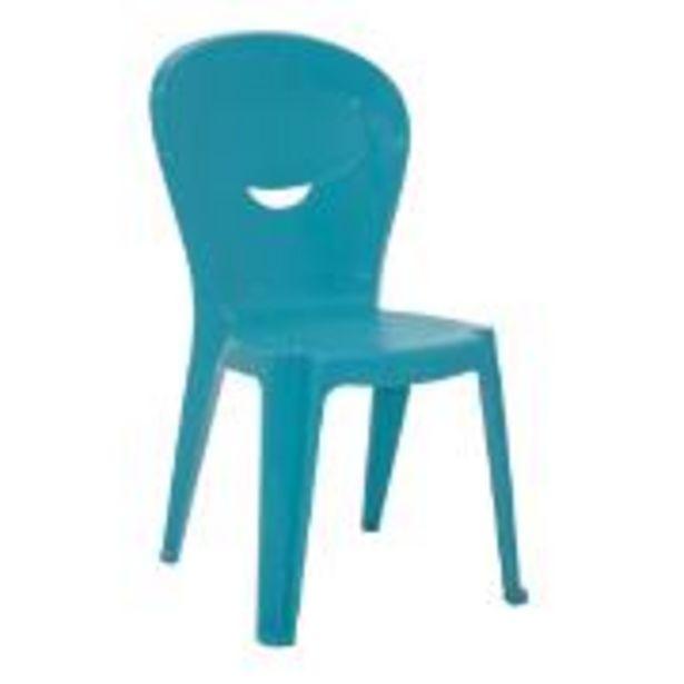 Oferta de Cadeira Infantil de Plástico Vice Azul 92270070 - Tramontina por R$89,9