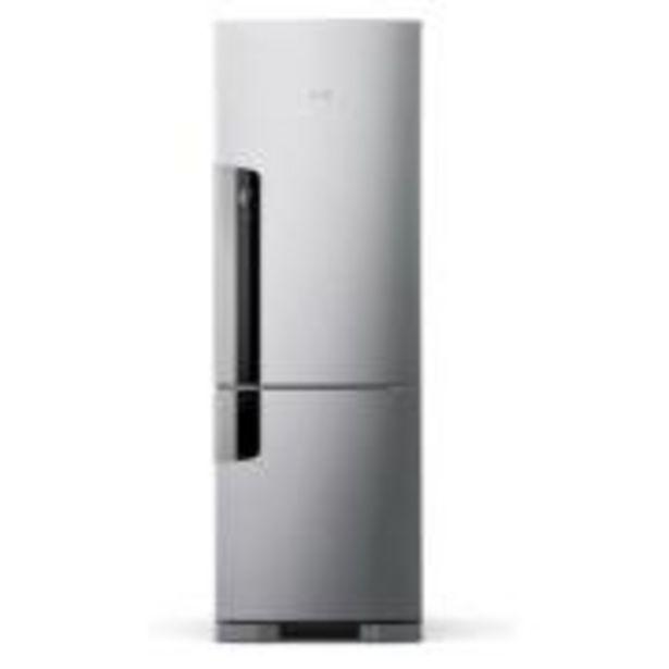 Oferta de Geladeira Refrigerador Consul Frost Free Inverse 397L 220V Inox ... por R$4249