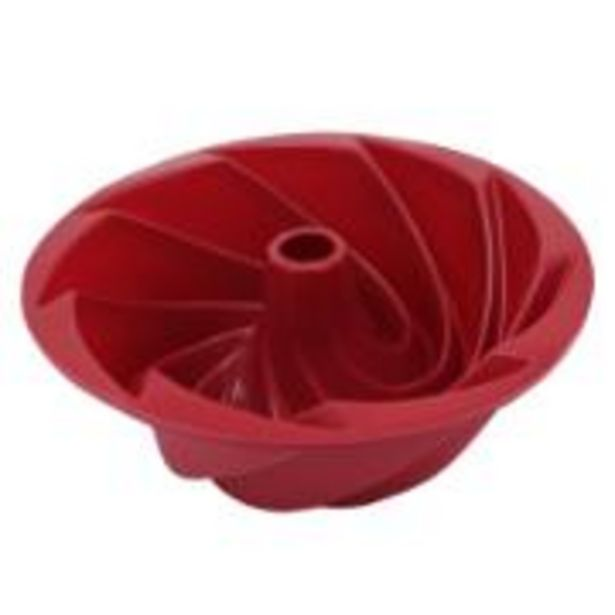 Oferta de Forma de Silicone para Pudim Flan Carol 24cm 1 Peça - Yangzi por R$54,9