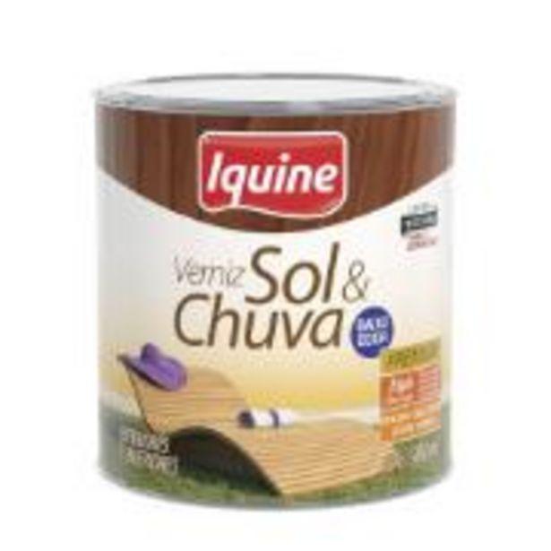 Oferta de Verniz Sol E Chuva Alto Brilho - Imbuia - 0,900L - Sol E Chuva... por R$27,9