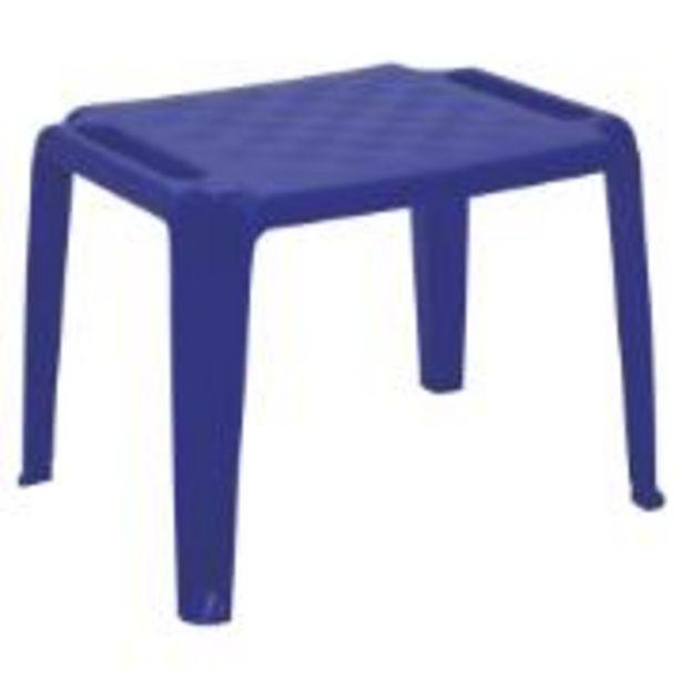 Oferta de Mesa Infantil de Plástico Dona Chica Azul 92320670 -... por R$129,9