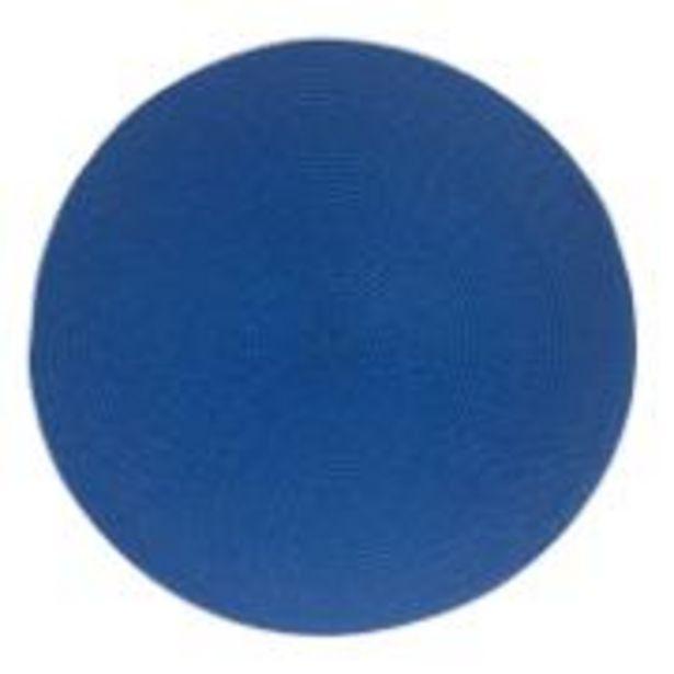 Oferta de Pano Americano Redondo Azul 38 cm Polipropileno 1 Peça - ... por R$10,9