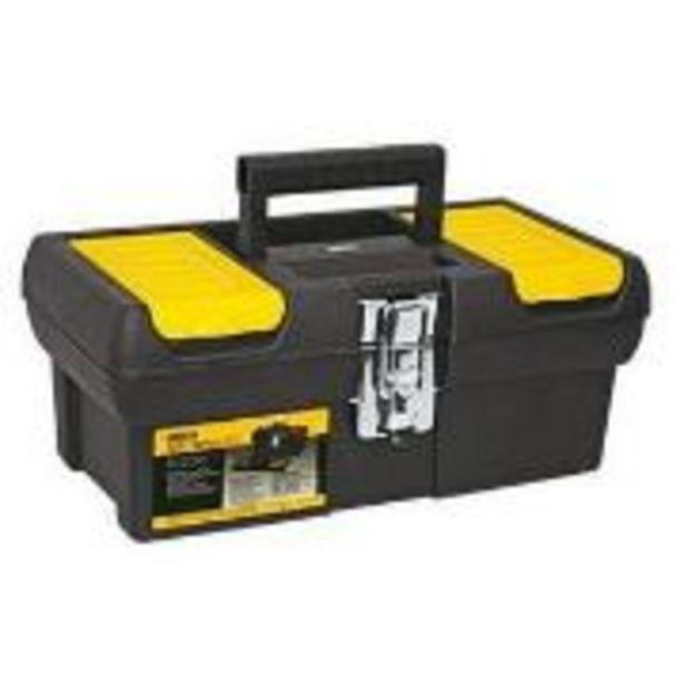 """Oferta de Caixa para Ferramentas de Plástico 13013 12,5"""" Tool Box - Stanley por R$77"""