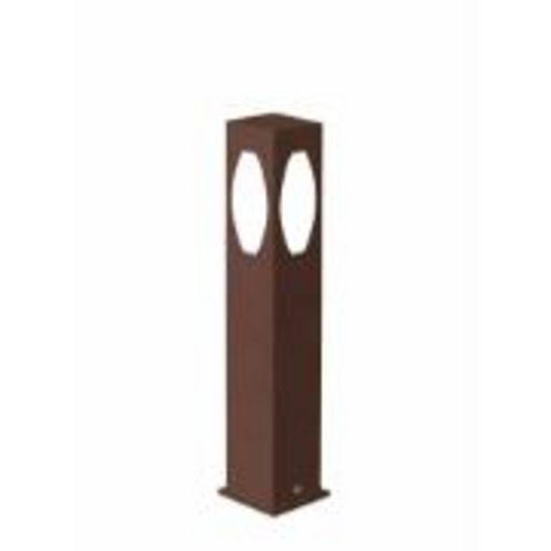 Oferta de Poste de Jardim Alumínio e Vidro 50cm 5550 - Usina Design por R$129